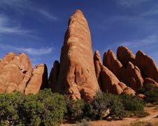 Utah Red Rocks Stock Image