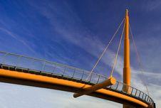 Free Rope Bridge Royalty Free Stock Photos - 9995758