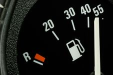 Free Fuel Gauge Royalty Free Stock Image - 9995866