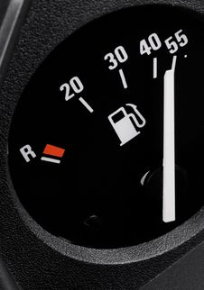 Free Fuel Gauge Royalty Free Stock Image - 9995906
