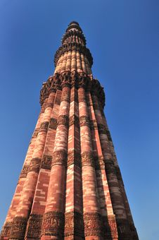Free QutubMinar Royalty Free Stock Images - 9996489