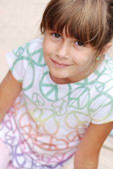 Free Cute Girl Royalty Free Stock Photo - 9996775