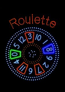 Roulette-Signalisation Stock Images