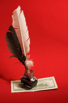Free Feather Quill Stock Images - 9998254