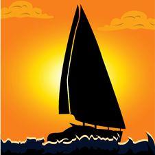 Free Sailboat Stock Image - 9998331