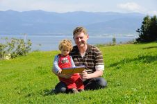 Free Father And Son Stock Photography - 9998432