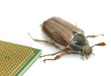 Free Microchip Bug Stock Photo - 9998490