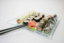 Free Japanese Sushi Royalty Free Stock Images - 9998849