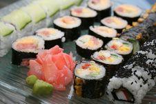 Free Japanese Sushi Stock Images - 9998864