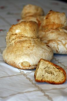 Several Breads Stock Photography