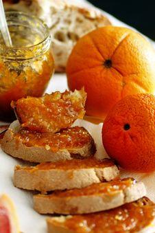 Free Orange Jam Stock Photo - 9999610