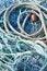 Free Blue Fishing Net Stock Photos - 9996673